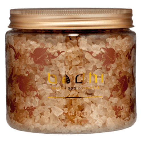 bath salt orange ginger