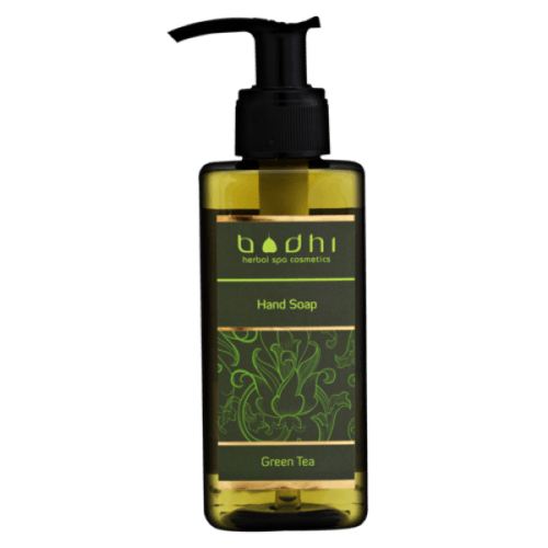 hand wash green tea