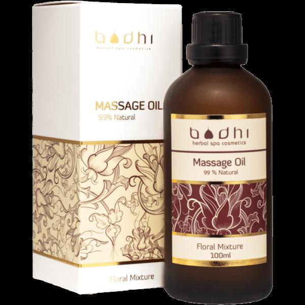 massage oil floral mixture