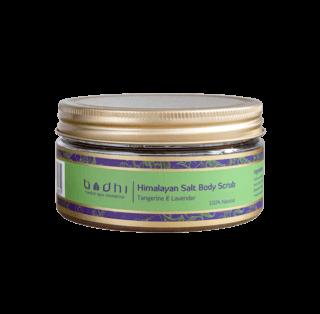 Himalyan Salt Body Scrub Tagerine Lavender